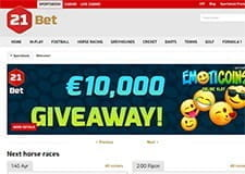 21 bet home page thumb