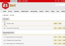 21bet live betting platform thumb