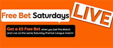 888sport Free Bet Saturdays