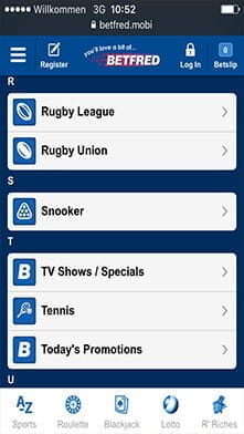 The Betfred Sports Betting App - Great Offers & Quality Live Streaming
