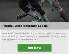 Betway Accumulator Insurance