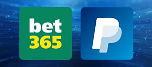bet365 and PayPal logos