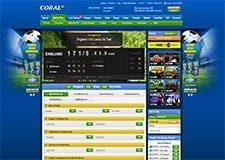 The Coral In-Play Platform: Live Infographic With Fast Odds Updates And Statistical Info