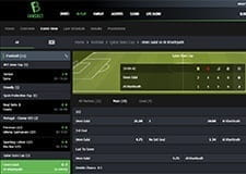 The FansBet live betting page