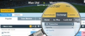lay betting strategy at the Betfair exchange