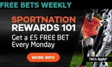A weekly bet that rewards loyal customers at SportNation