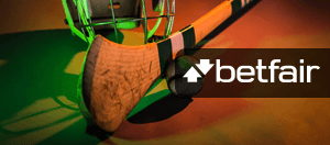 A Gaelic sports tool and the Betfair logo
