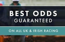 Grosvenor best odds guaranteed horse racing promotion