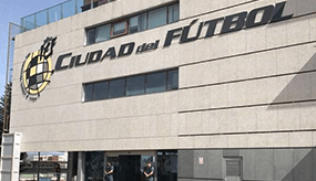 The La Liga headquarters