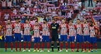 A team shot of Atletico Madrid