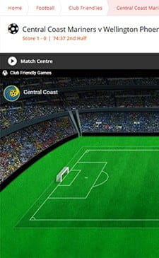 A thumnail image of a Sun Bets live infographic which shows what is going in a football match