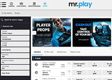 The homepage of mr.play thumbnail