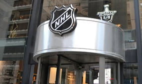 The NHL headquarters building
