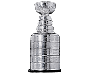 An award-style emblem showing the NHL Stanley Cup