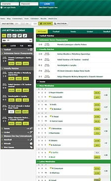 In-play betting at paddypower