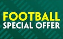 Paddy's football accumulator insurance offer