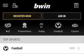pick your sport bwin