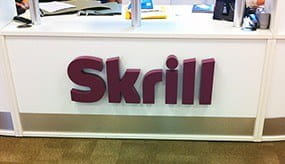The headquarters building of Skrill