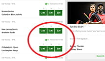 The Unibet betting markets hub where you can make a selection to add to the bet slip