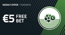 The virtual Tuesdays FansBet promotion