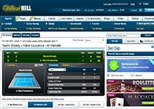 The in-play platform at William Hill