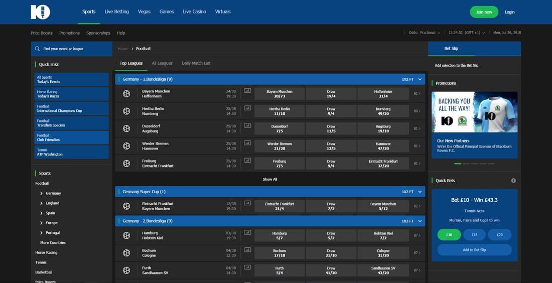 Betting with 10Bet: a Complete Review of the New Betting