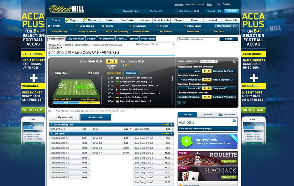 top betting sites online packers current score