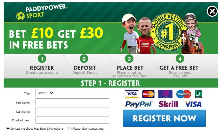 paddy power casino sign up offer