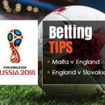 Betting tips and preview of England's upcoming World Cup qualifying matches