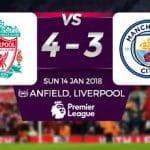 Liverpool 4 - 3 Man City