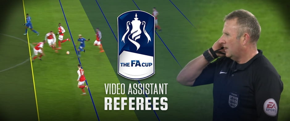 Video assistant referee in action