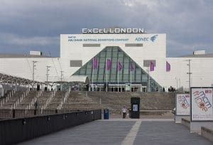 The Excel building in London