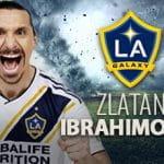 Zlatan joins LA Galaxy