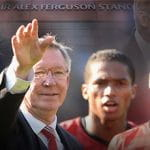 Alex Ferguson waving