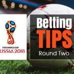 World Cup 2018 betting tips round 2