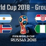 Group D of the 2018 World Cup