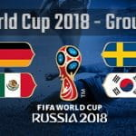 Group F of the World Cup 2018 in Russia
