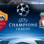 Roma v Liverpool in the Champions League