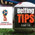 World Cup 2018 last 16 betting tips