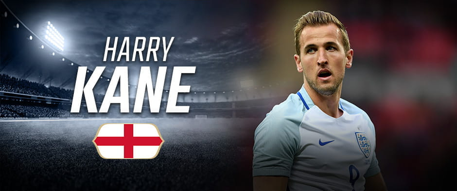 Harry Kane World Cup Russia 2018