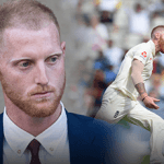 Ben Stokes in suit and playing cricket