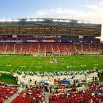 An NFL stadium