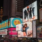 Advertising screens