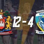 Wigan and Warrington badges