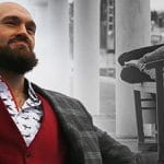 Tyson Fury before a fight
