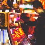 A man gambling