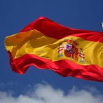 The Spanish flag