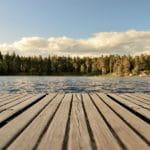 Boardwalk in Sweden