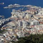 A view of Gibraltar