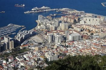 A view of Gibraltar